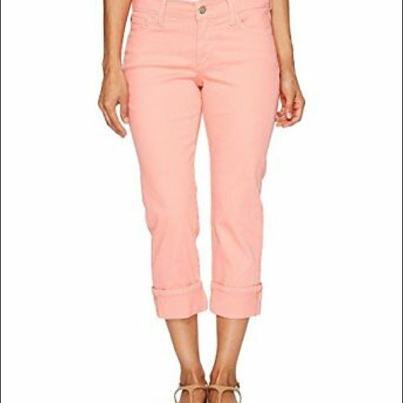 NYDJ Denim - Not your daughters jeans Dayla Capris size 2 pink